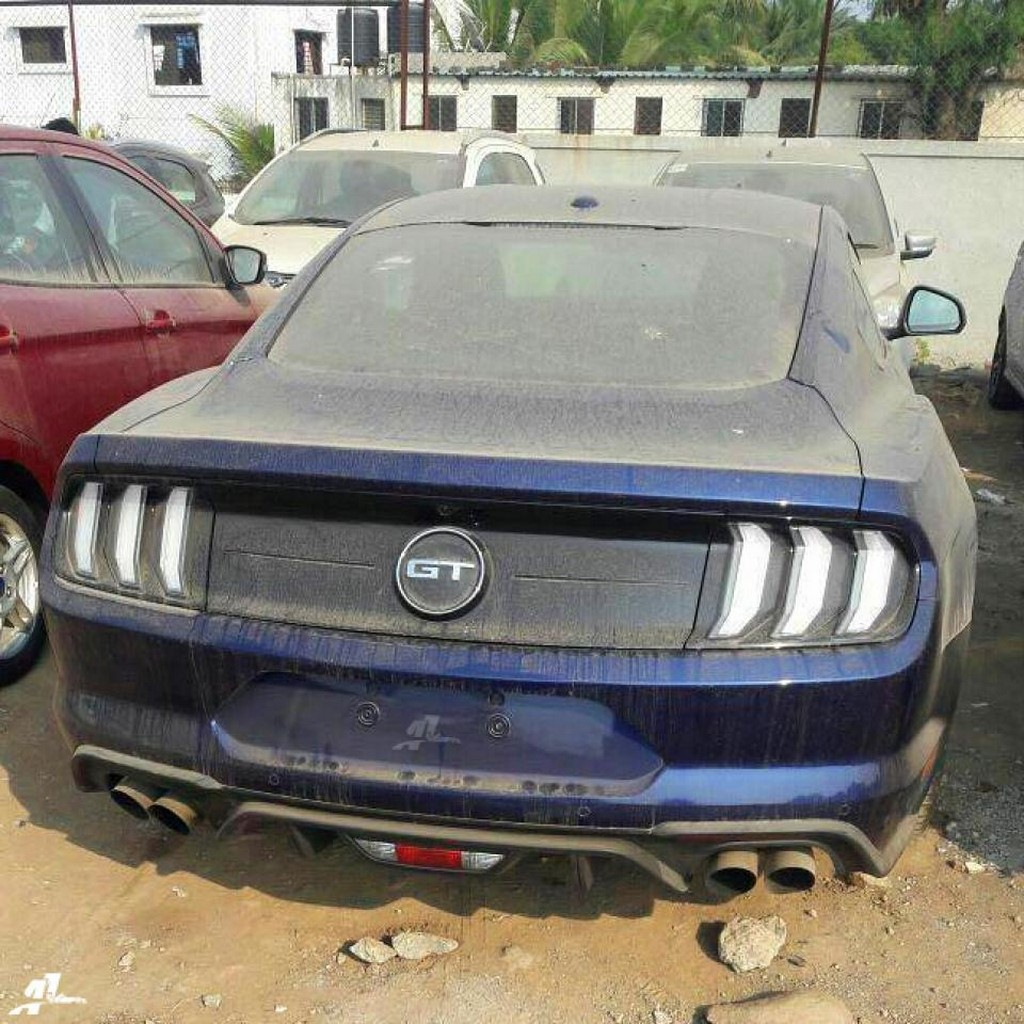 2018 Ford Mustang Faceilift Rear