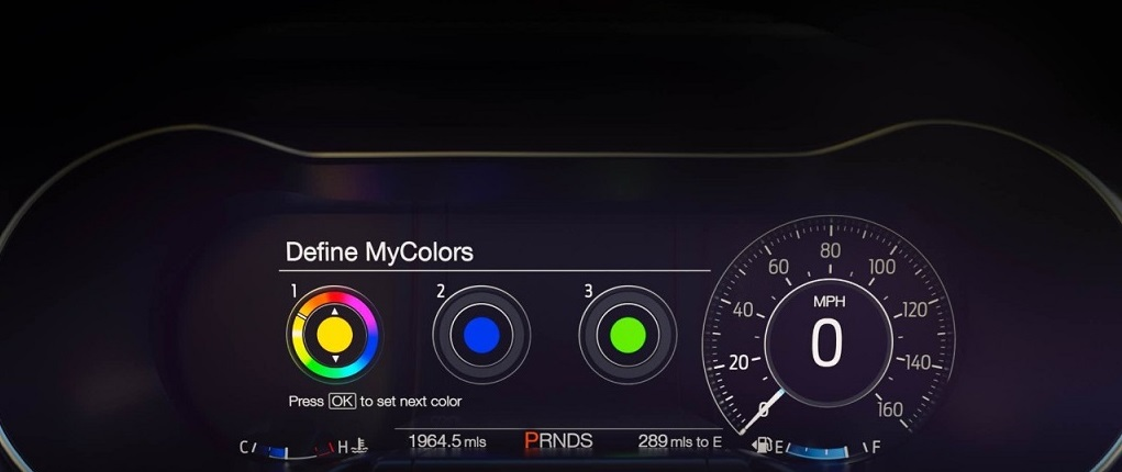 2018 Ford Mustang Instrument Cluster