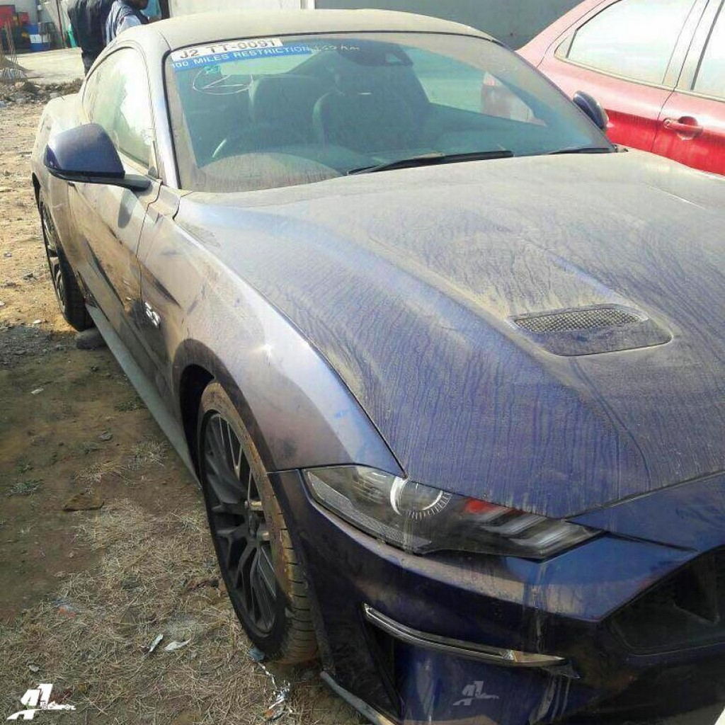 2018 Ford Mustang Spotted
