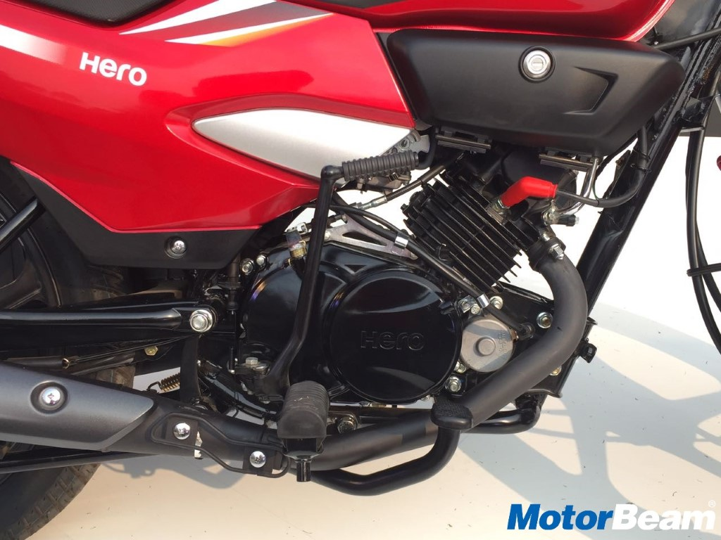 2018 Hero Super Splendor Engine