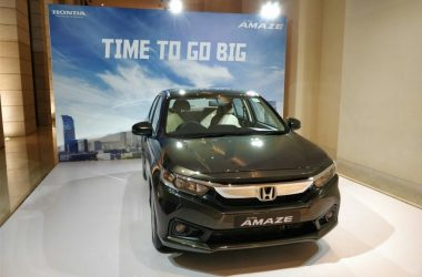 2018 Honda Amaze Launched, Priced From Rs. 5.59 Lakhs