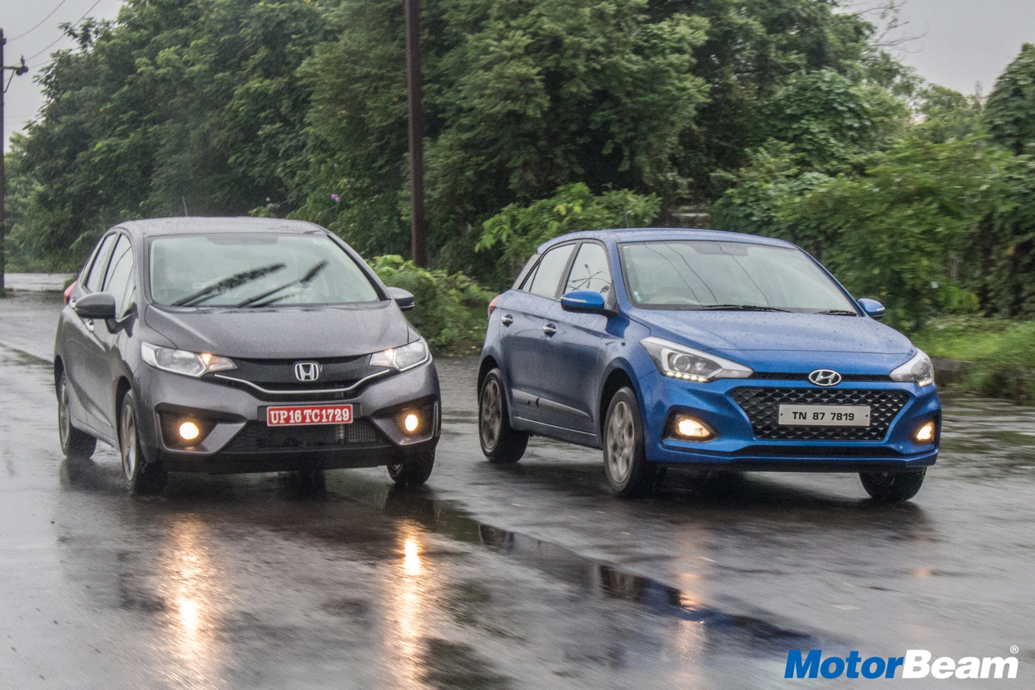 2018 Honda Jazz vs Hyundai Elite i20