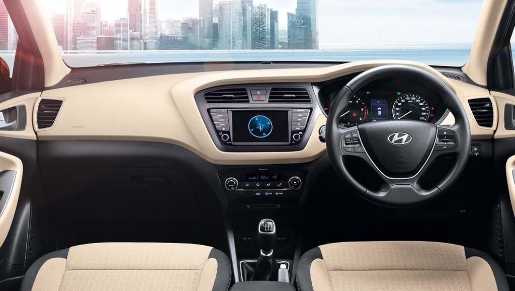 2018 Hyundai Elite i20 Dashboard