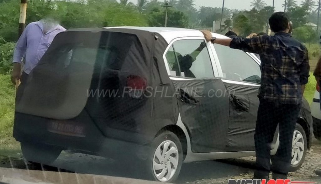 2018 Hyundai Santro Spied In India