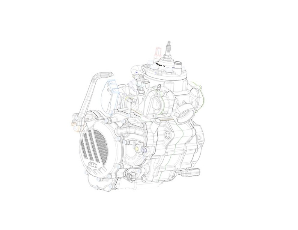 Ktm Fuel Injected 2 Stroke Engine Developed Motorbeam