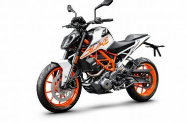 2018 KTM Duke 390 Launched; Now With White Colour Option