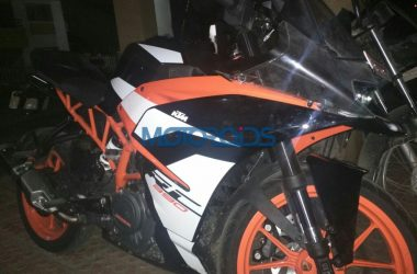 2018 KTM RC 390 Spotted On Test In India