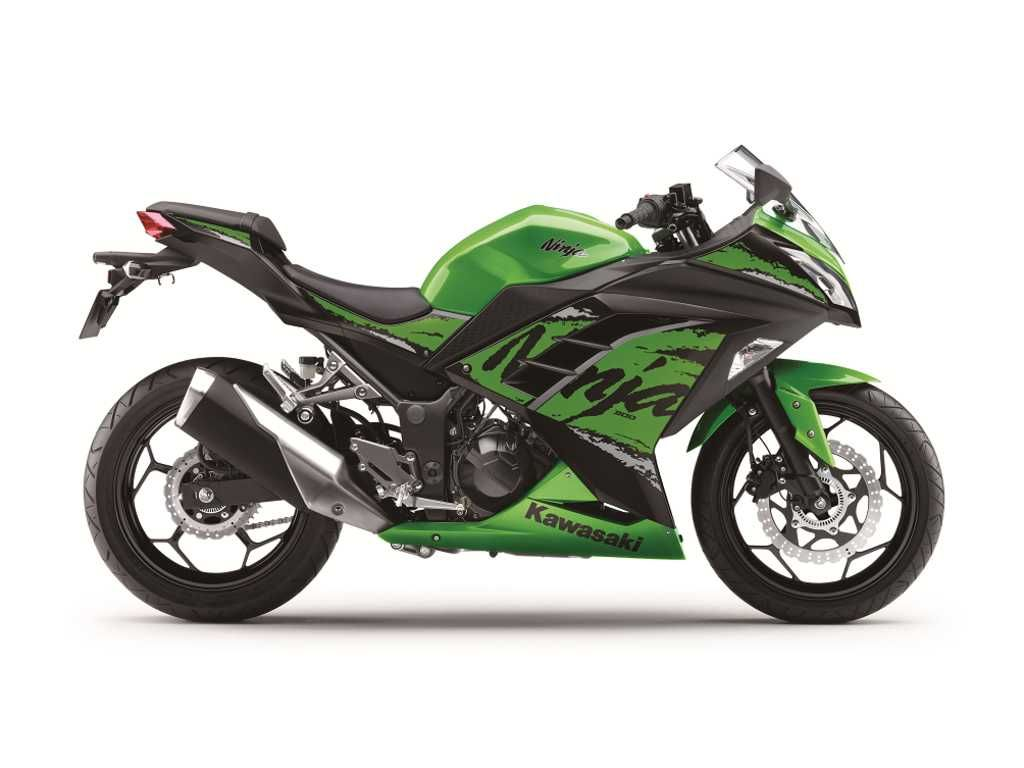 2018 Kawasaki Ninja 300 India Launch