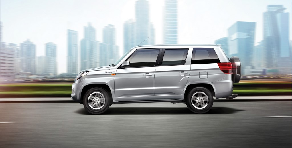 2018 Mahindra TUV300 Plus Side Profile