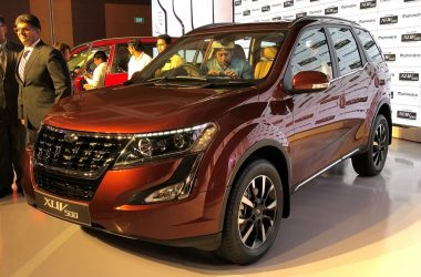 2018 Mahindra XUV500 Launched, Priced From Rs. 12.32 Lakhs