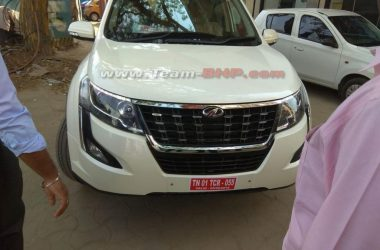 2018 Mahindra XUV500 Images Leaked Ahead Of Launch