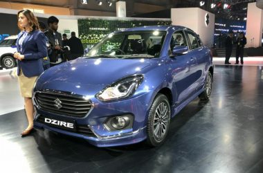 Maruti Dzire Special Edition Displayed At Auto Expo, Gets Body Kit