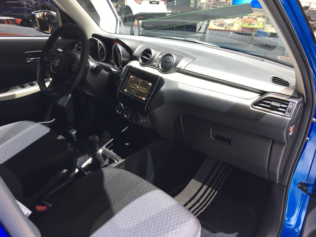 2018 Maruti Swift Dashboard