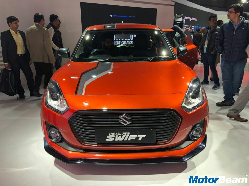 2018 Maruti Swift iCreate 1