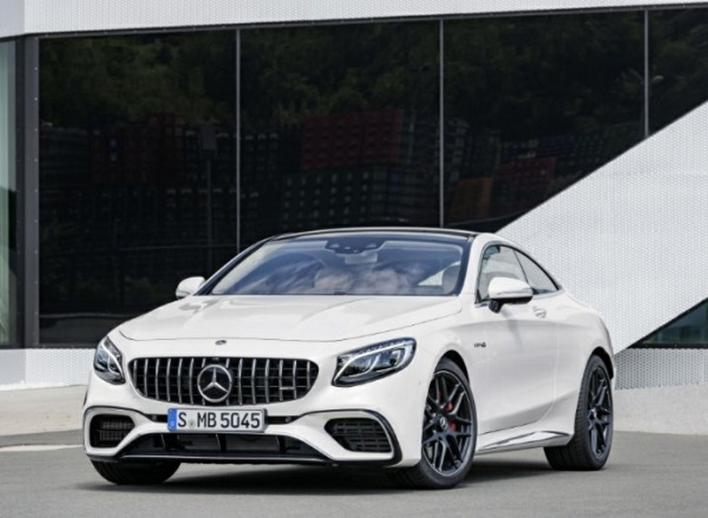 2018 Mercedes AMG S63 4Matic+ Coupe Front