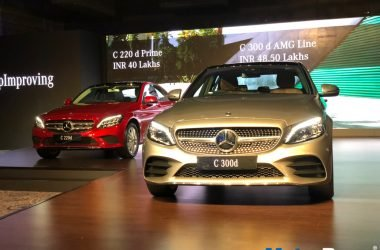 2018 Mercedes C-Class Launched, Priced From Rs. 40 Lakhs