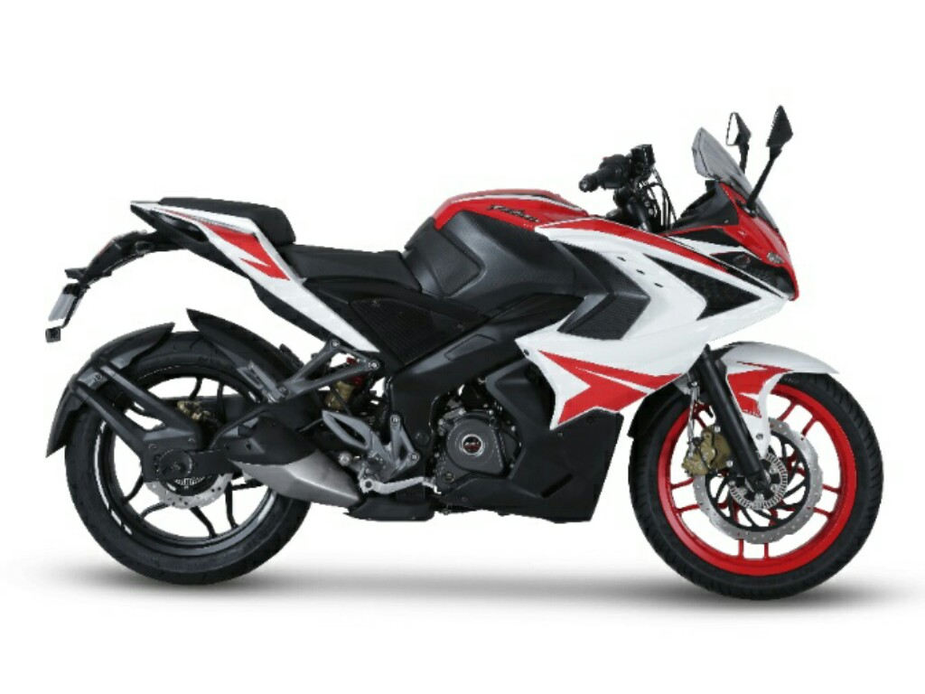 2018 Pulsar RS 200 Racing Red Side
