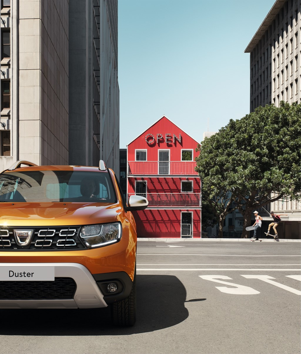 2018 Renault Duster Front