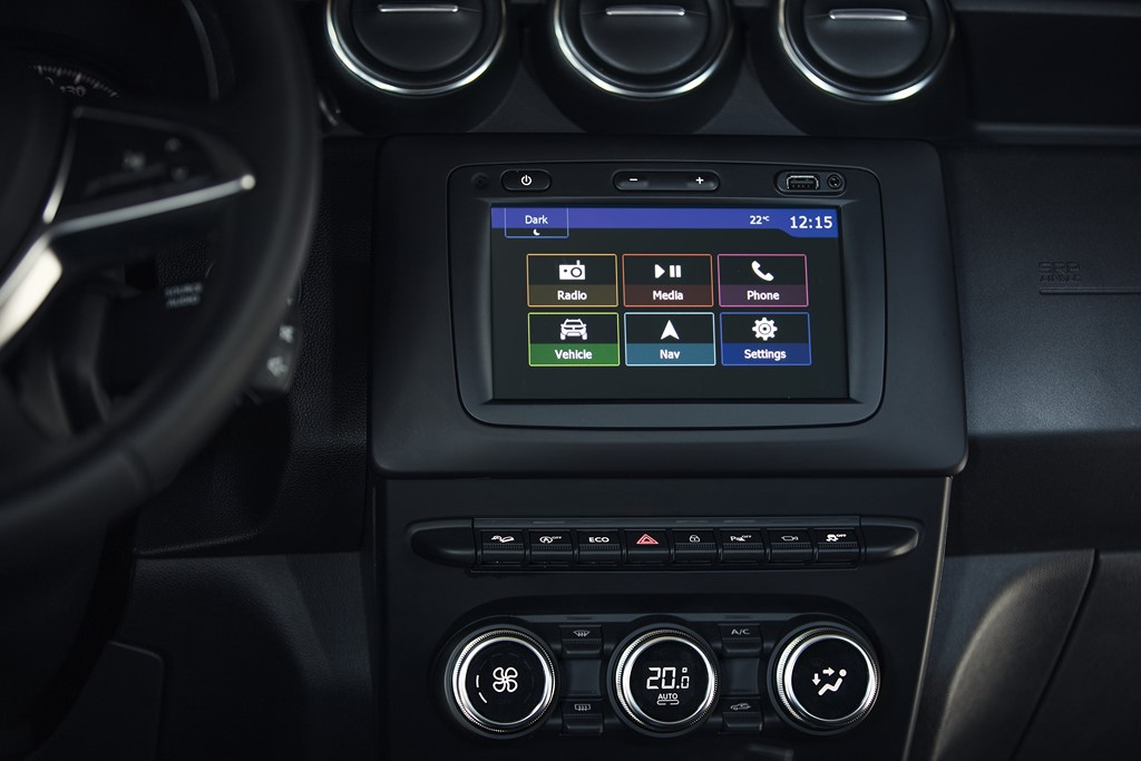 2018 Renault Duster Infotainment System