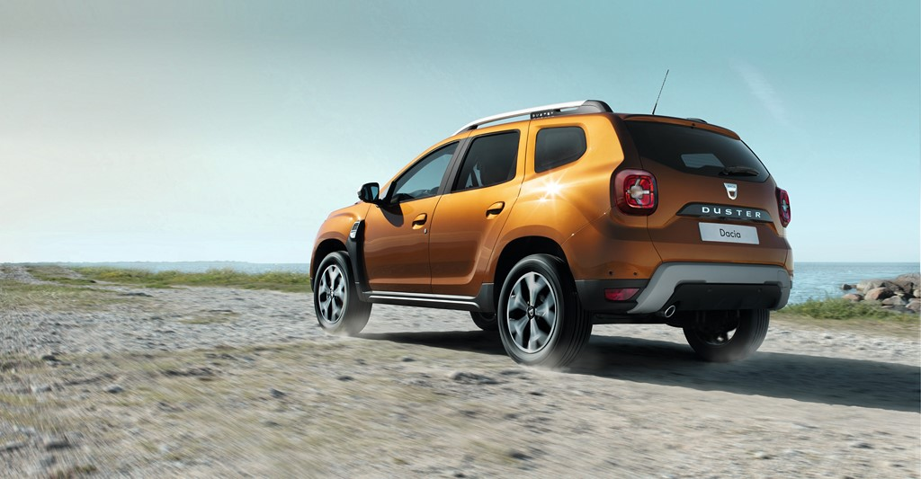 2018 Renault Duster Rear