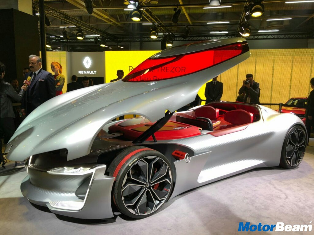Renault Trezor Concept Showcased At 2018 Auto Expo Motorbeam