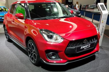2018 Suzuki Swift Sport Front And Side