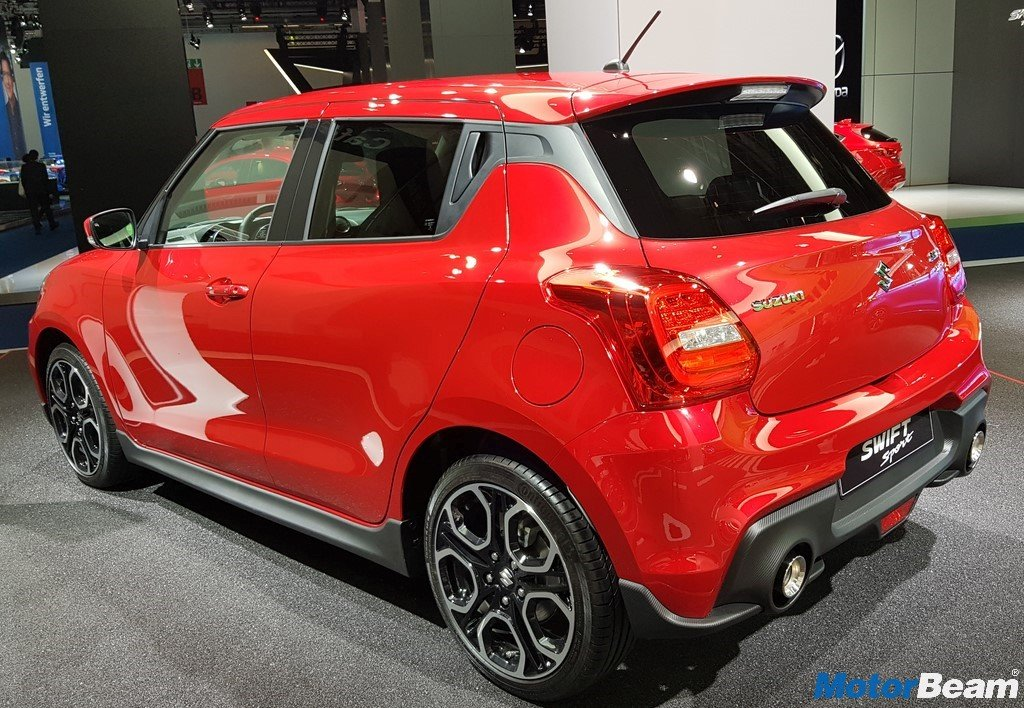 2018 Suzuki Swift Sport Side Profile