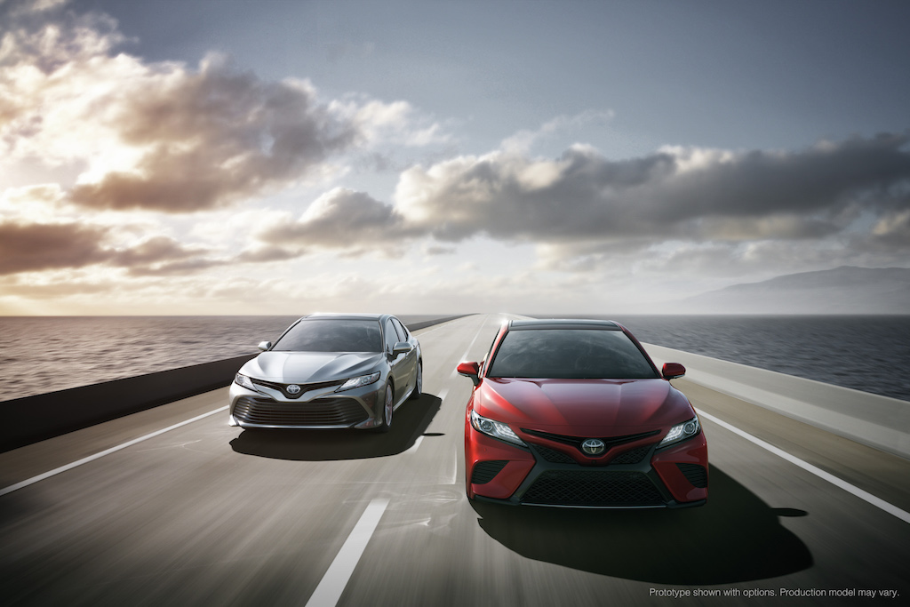 2018 Toyota Camry Launch