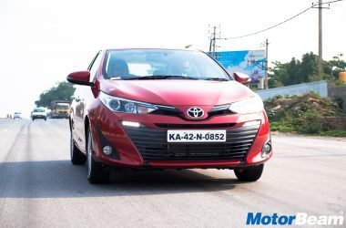 2018 Toyota Yaris Launched, Priced From Rs. 8.75 Lakhs