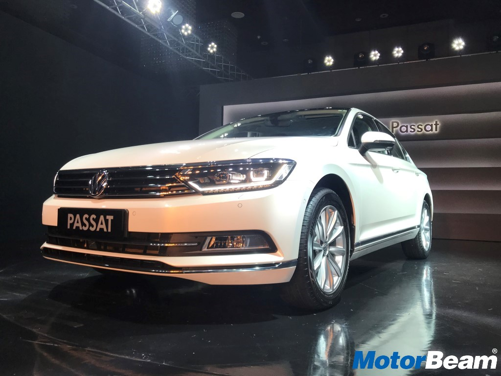 2018 volkswagen passat launched priced from rs lakhs auto breaking news. Black Bedroom Furniture Sets. Home Design Ideas