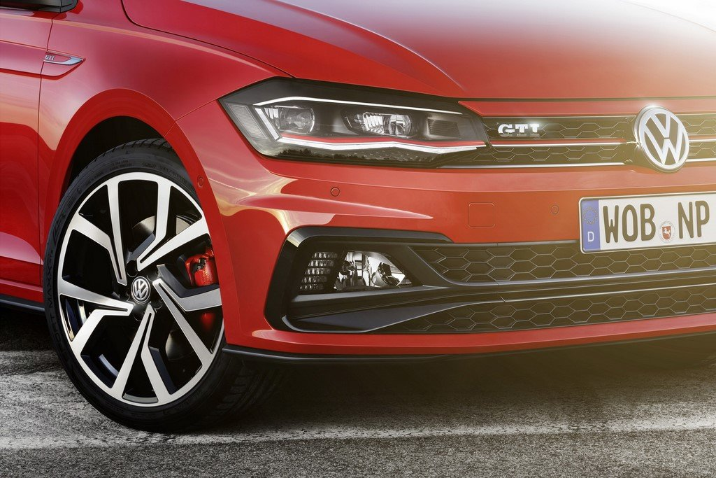 2018 Volkswagen Polo GTI Headlamps