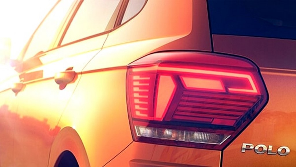 2018 Volkswagen Polo Taillamps