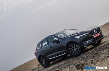 2018 Volvo XC60 Launched, Priced At Rs. 55.90 Lakhs