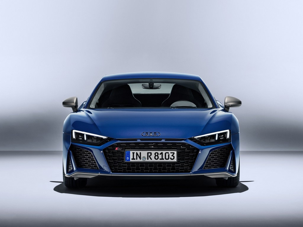 Audi R8 revealed with tweaked design and more power