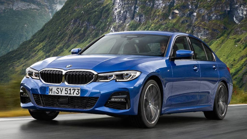 2019 BMW 3 Series Front Three Quarter