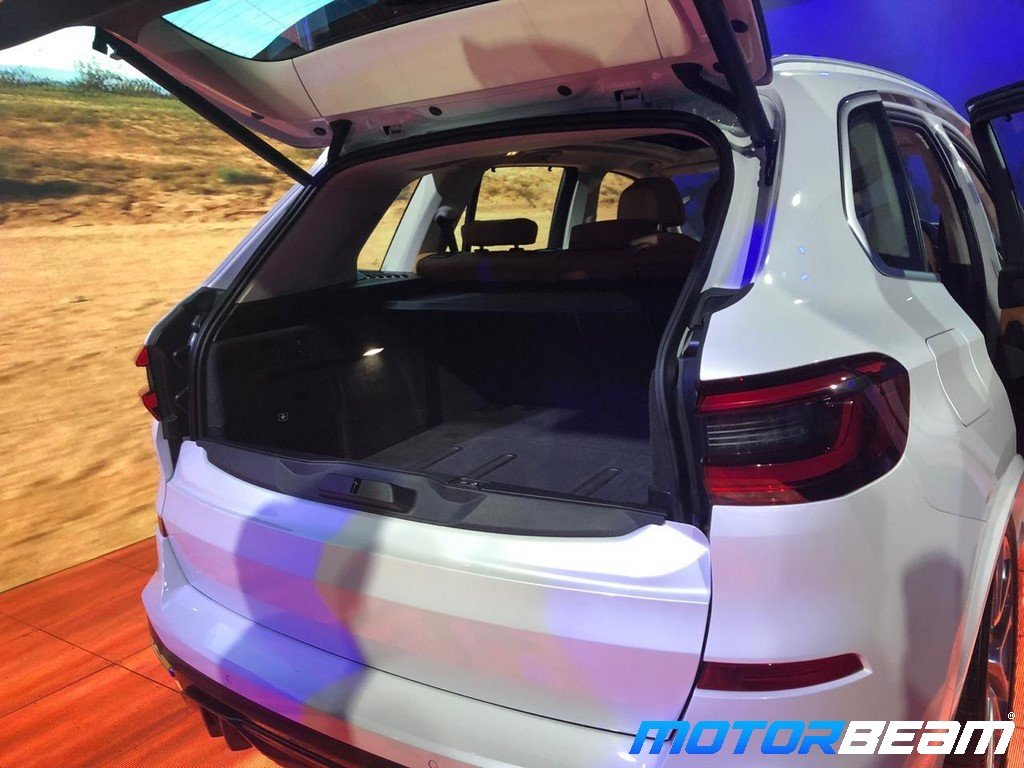 2019 BMW X5 Boot