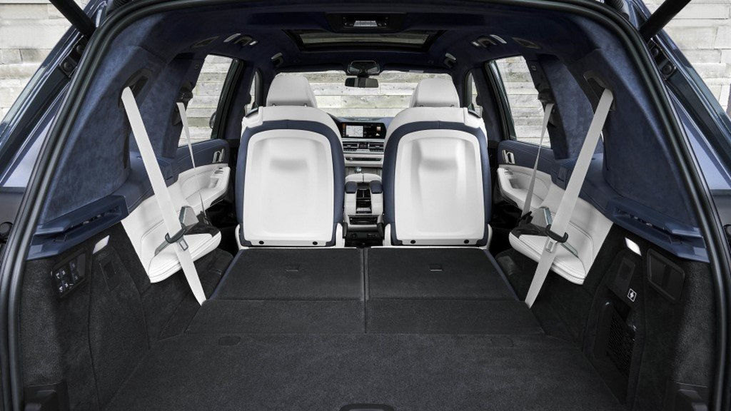 2019 BMW X7 Boot