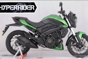 2019 Bajaj Dominar 400 Green Colour