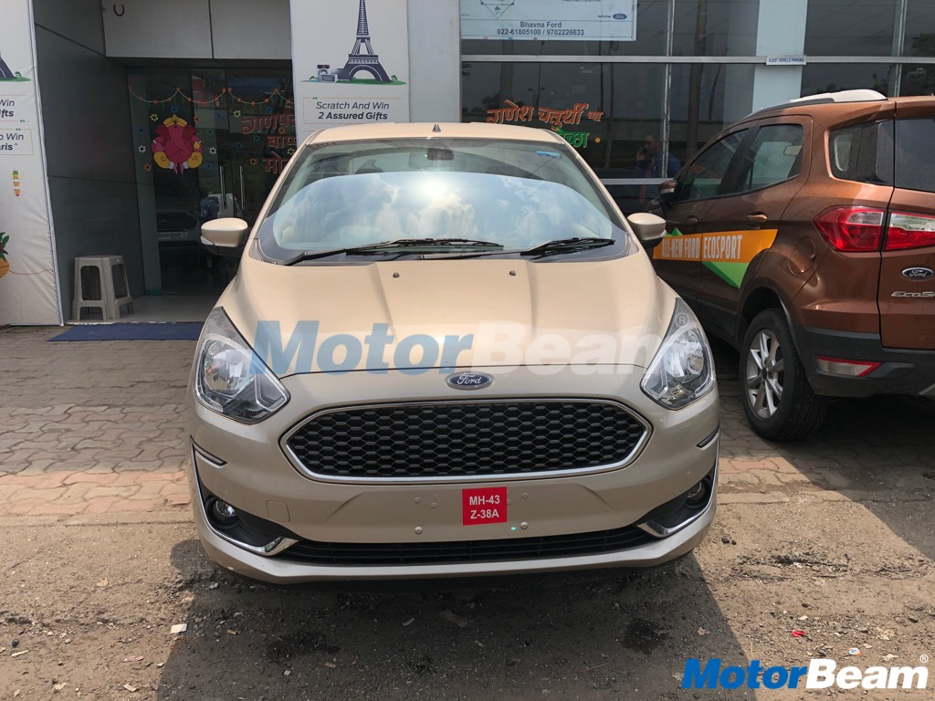 2019 Ford Aspire Grille