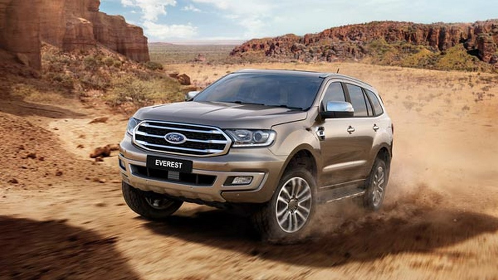 2019 Ford Endeavour India