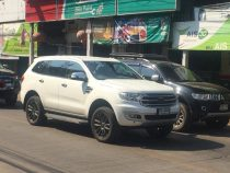 2019 Ford Endeavour Spied
