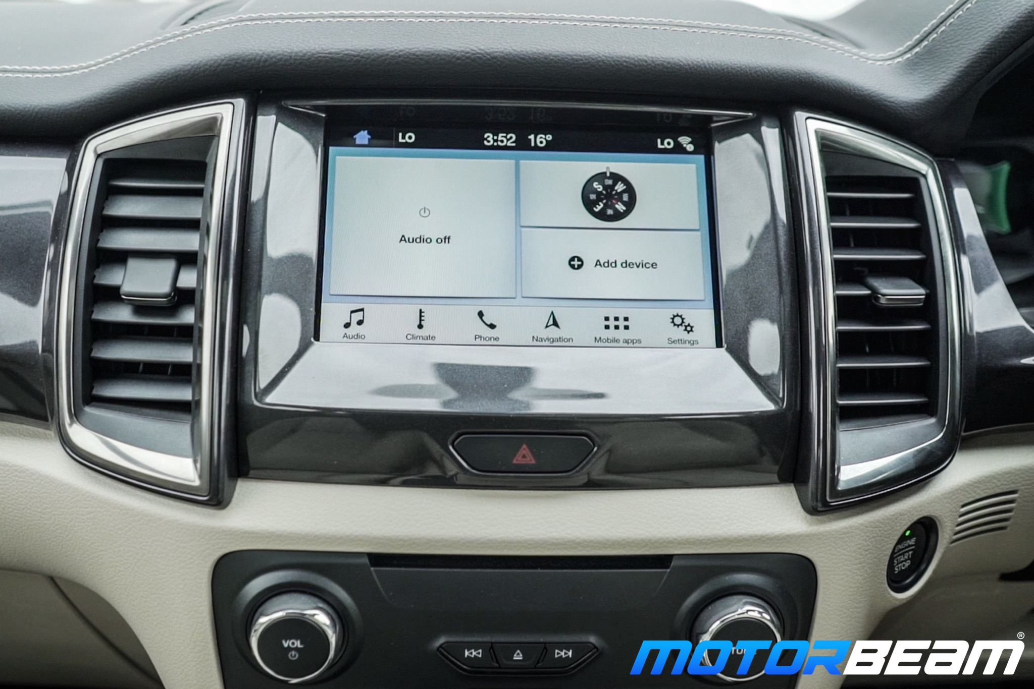 2019 Ford Endeavour Touchscreen