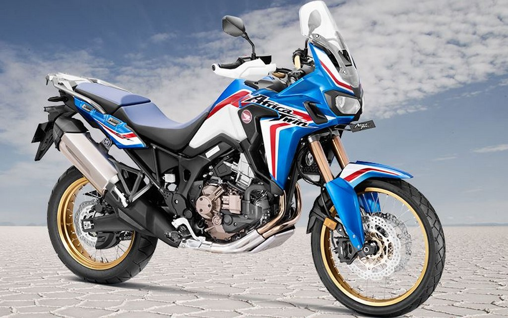 2019 Honda Africa Twin Front Three Quarters