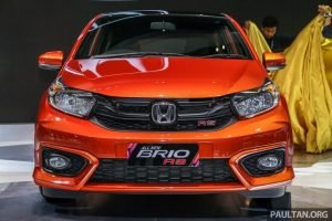 2019 Honda Brio RS Features