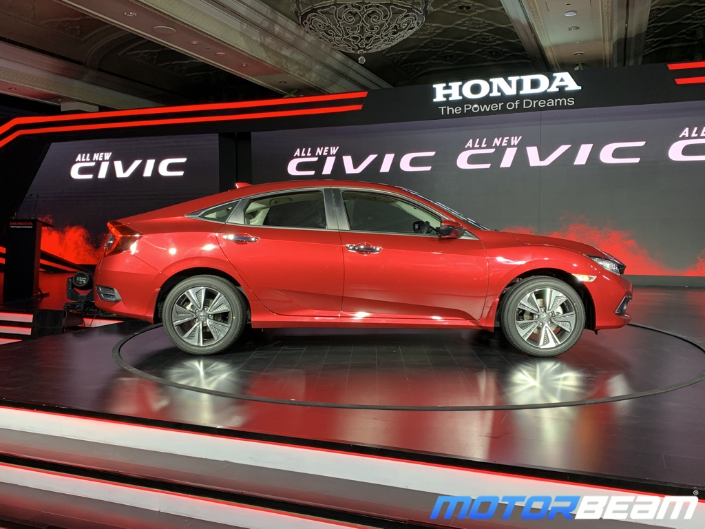2019 Honda Civic Side