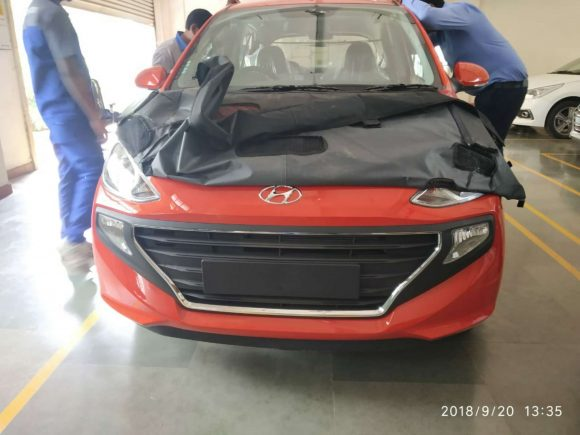 2019 Hyundai Santro Spied Launch On 23rd October Motorbeam
