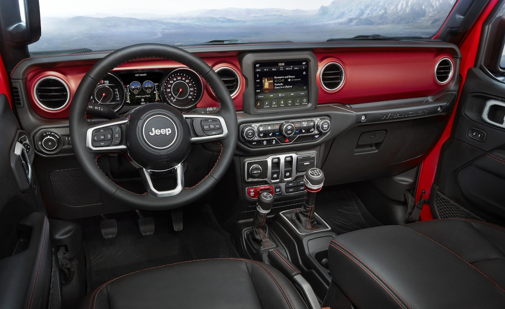 2019 Jeep Wrangler Features