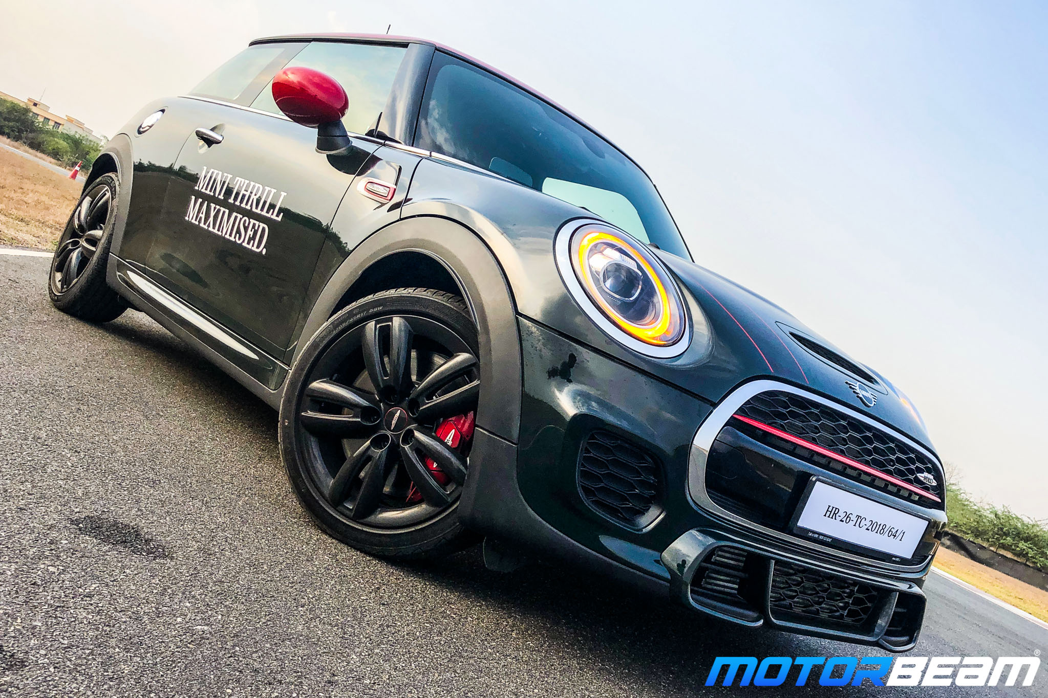 2019 Mini Cooper Jcw Review Track Drive Motorbeam
