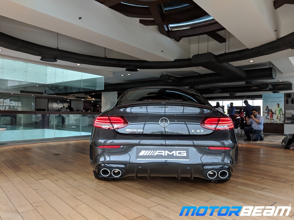 2019 Mercedes-AMG C43 Coupe Rear