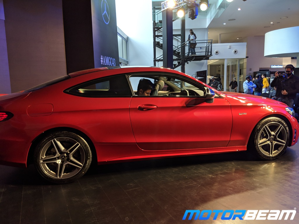 2019 Mercedes-AMG C43 Coupe Side